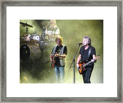 The Moody Blues In Concert Framed Print