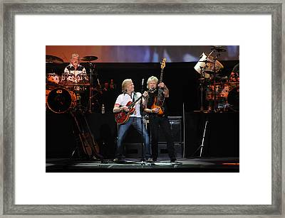 The Moody Blues Framed Print