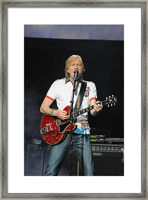 The Moody Blues Justin Hayward 8-8-2009 Framed Print