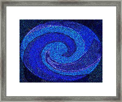 The Moon And Stars For Thee By Rjfxx. Framed Print