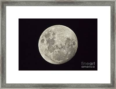 The Moon As Seen From The Southern Framed Print