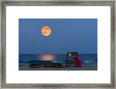 The Moon Is Yours Framed Print