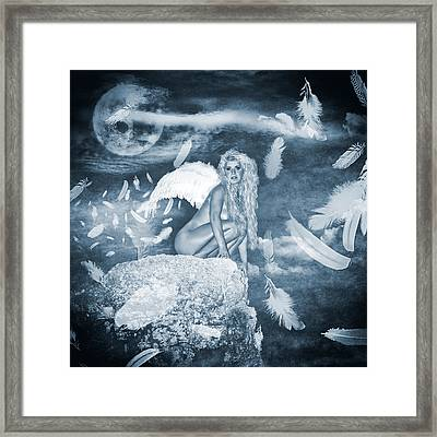 The Moonlight Of The Angels Framed Print by Stelios Kleanthous