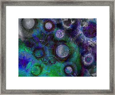 The Moons Of Evermore Framed Print by David Pantuso