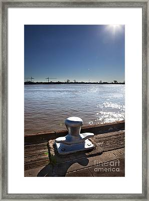 The Mooring Framed Print by Kay Pickens