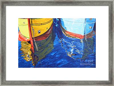The Moorings Framed Print by Neil Forsyth