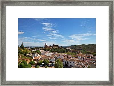 The Moorish Built Alcazaba Castle Framed Print by Panoramic Images