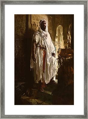 The Moorish Chief Framed Print