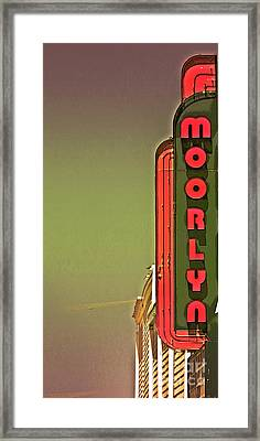 The Moorlyn At The Shore  Framed Print