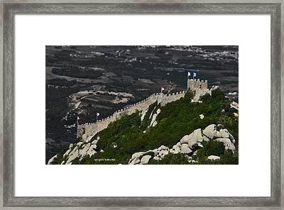 The Moor's Castle Framed Print by Aleksander Rotner