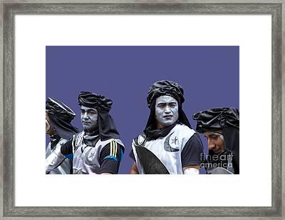 The Moors Prepare For Battle Framed Print