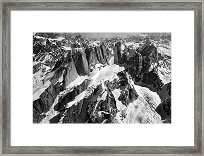 The Mooses Tooth Alaska Framed Print by Alasdair Turner