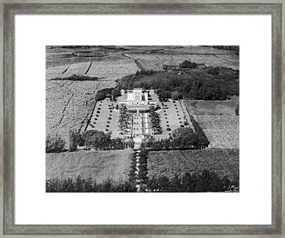 The Mormon Temple At Laie Framed Print