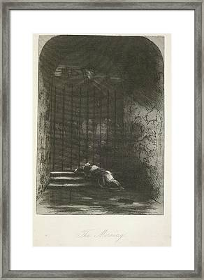 The Morning Framed Print by British Library