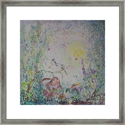 The Morning Field Framed Print by Avonelle Kelsey