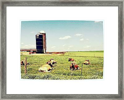 The Morning Gossipers Framed Print