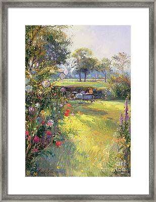 The Morning Letter Framed Print by Timothy  Easton