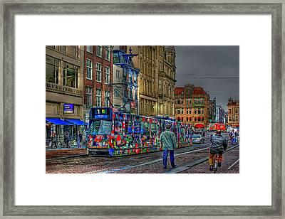 Framed Print featuring the photograph The Morning Rhythm by Ron Shoshani