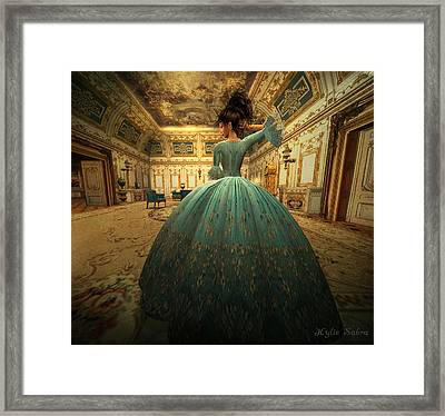 The Morning Room Framed Print by Kylie Sabra