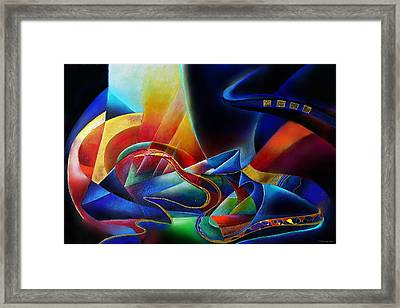 The Morning Framed Print by Wolfgang Schweizer