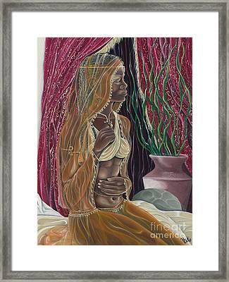 Contemplation Framed Print by Rhonda Falls