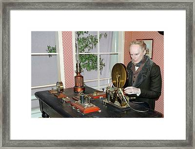 The Morse Telegraphic Apparatus Framed Print by Universal History Archive/uig