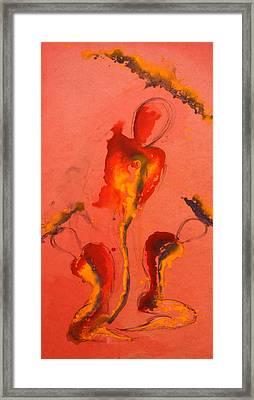 The Mortal Angels Framed Print