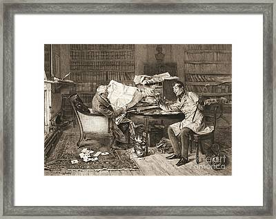 The Mortgage 1899 Framed Print by Padre Art