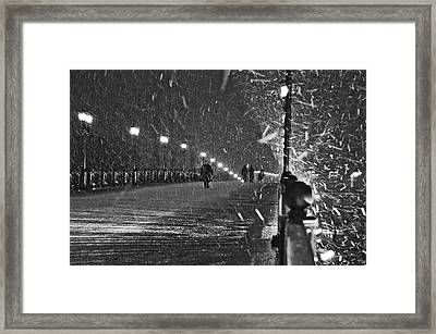 The Moscow Blizzard Framed Print