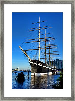 The Moshulu Framed Print by Olivier Le Queinec