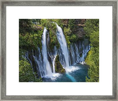 The Most Beautiful Waterfall Framed Print
