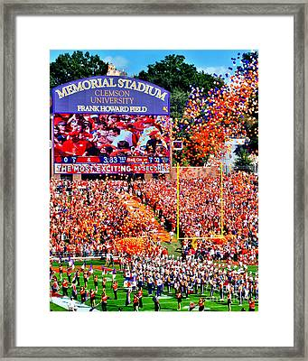 The Most Exciting 25 Seconds Framed Print