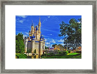 The Most Magical Of Kingdoms Framed Print by Rachael M