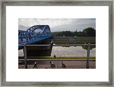 The Most Pilsudskiego Bridge Framed Print by Panoramic Images