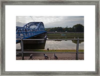 The Most Pilsudskiego Bridge Framed Print