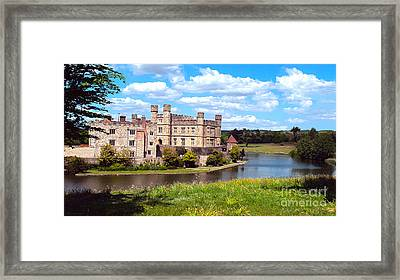 The Most Romantic Castle In England Framed Print