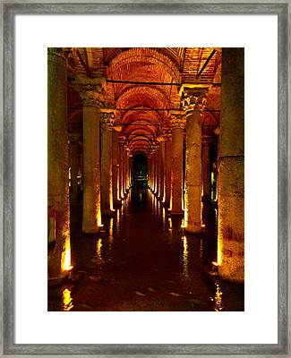 The Most Romantic Place Of Istanbul Framed Print