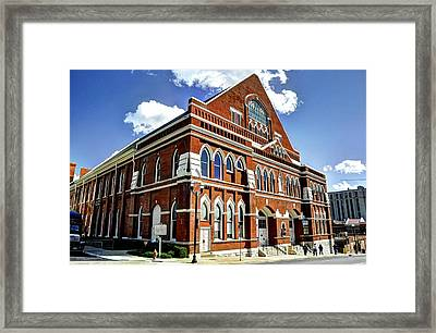 The Mother Church Framed Print