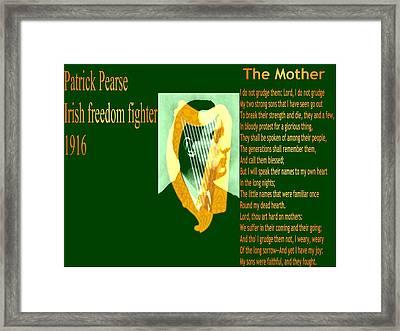 The Mother Framed Print