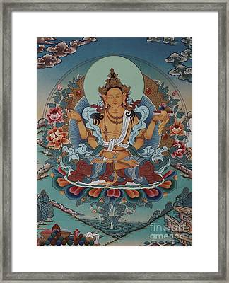 The Mother Of All Buddhas Framed Print by Lanjee Chee