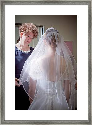 The Mother Of The Bride Framed Print by Linda Unger
