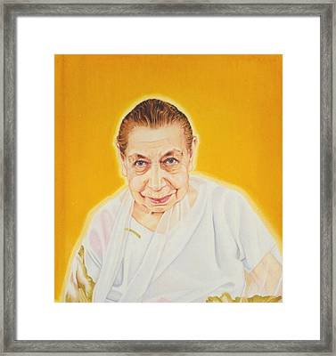 The Mother Framed Print by Shiva Vangara