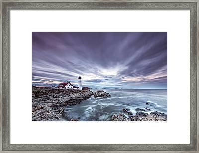 The Motion Of Light Framed Print by Jon Glaser