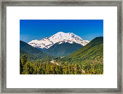 The Mountain And The Valley Framed Print by Rich Leighton