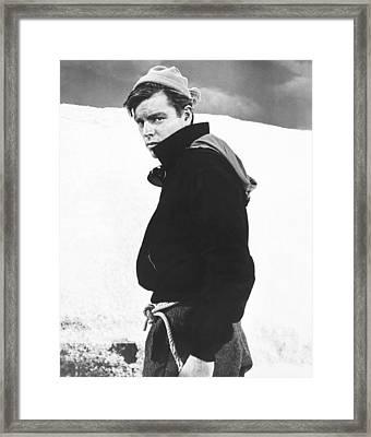 The Mountain, Robert Wagner, 1956 Framed Print