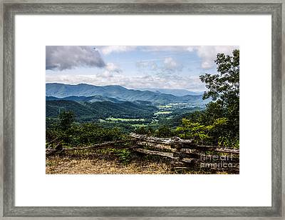 The Mountains Are Calling Framed Print by Marilyn Carlyle Greiner