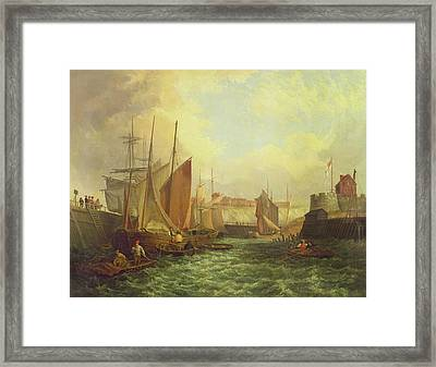 The Mouth Of The Yare, 1821 Framed Print by George Vincent