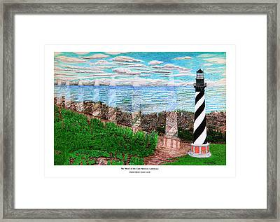The Move Of The Cape Hatteras Lighthouse Framed Print by Frank Evans