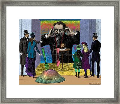 The Moveable Feast Framed Print by Eric Edelman