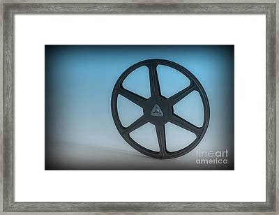 The Movie Reel Framed Print